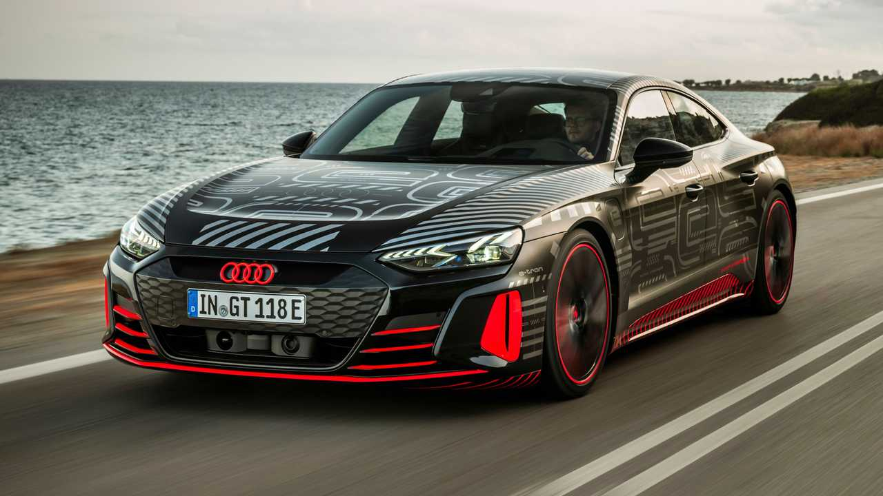 Véhicule prototype Audi RS E-Tron GT