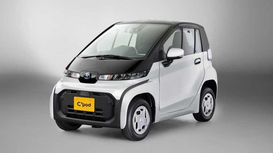Toyota lancia la sua prima elettrica per la città: ecco la C+pod
