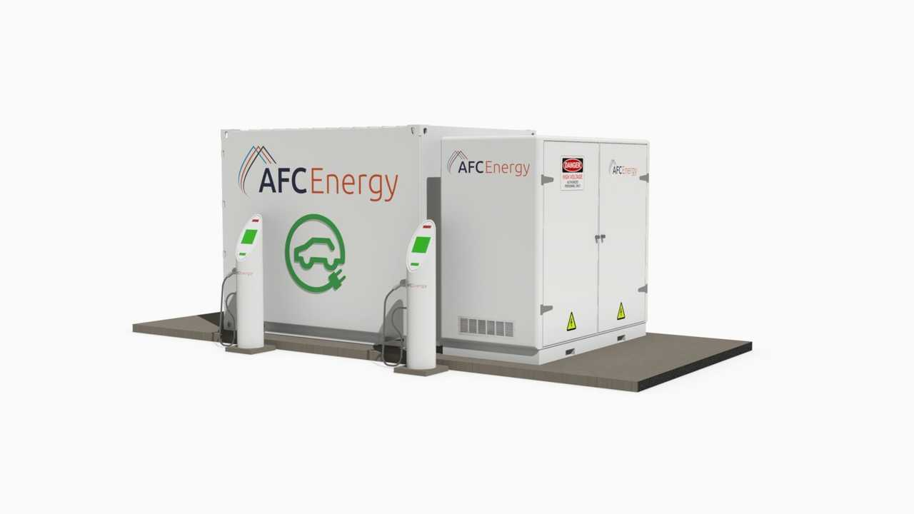 AFC Energy hydrogen DC fast charging