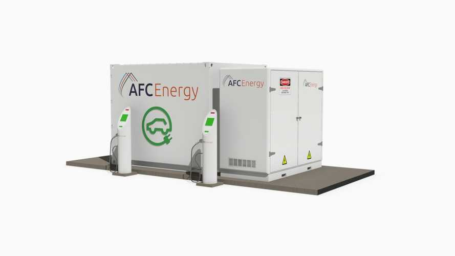 A Hydrogen-Powered Off-Grid DC Fast Charger?