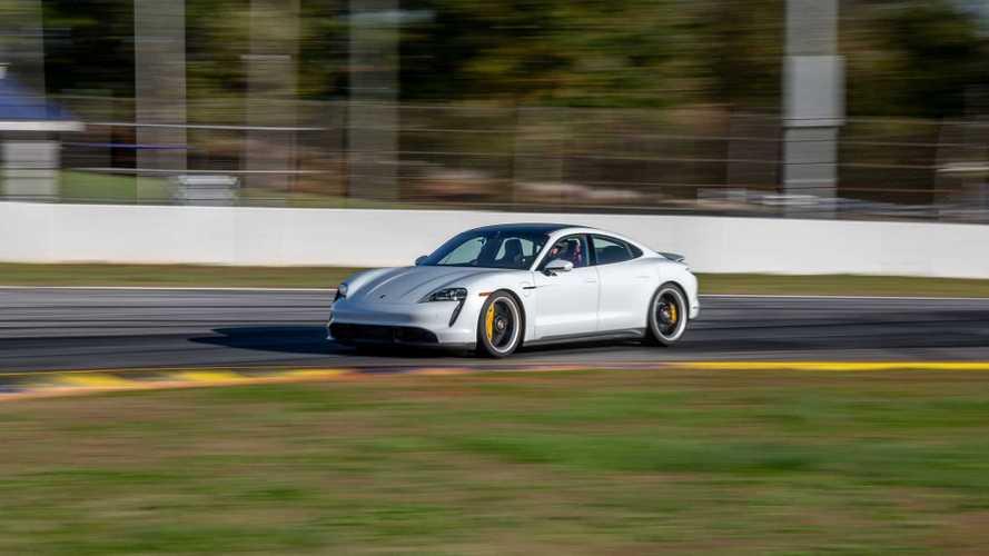 Vidéo - La Porsche Taycan enregistre un record à Road Atlanta