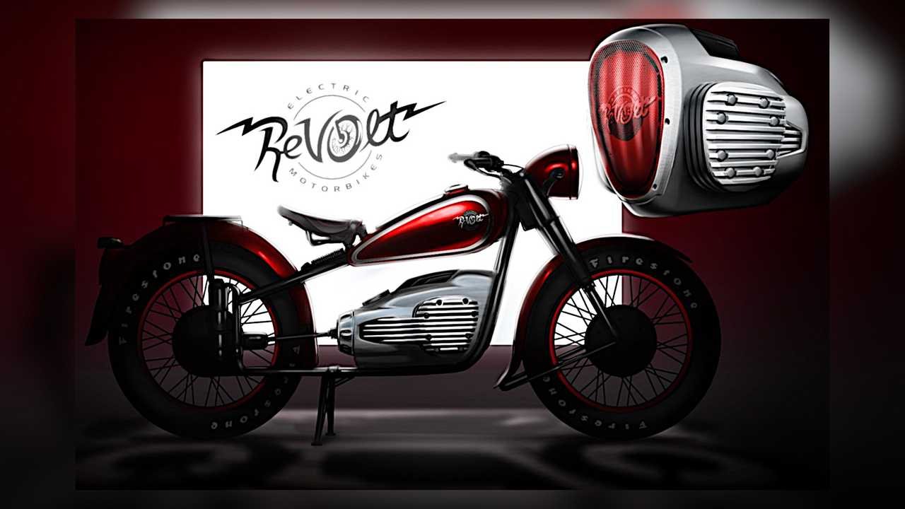 ALYI Retro ReVolt Electric Motorcycle Rendering