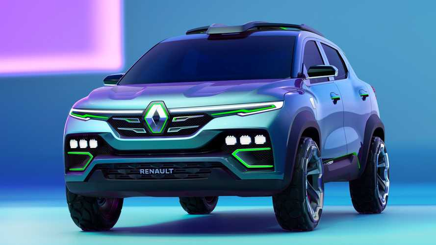 Renault Kiger é revelado como SUV do Kwid para mercado global