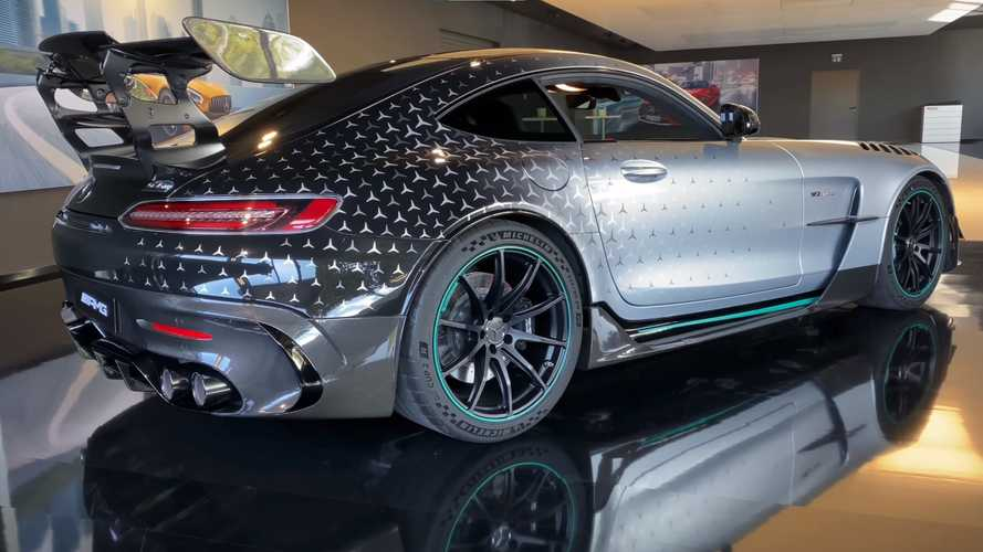 Mercedes-AMG GT Black Series Project One Edition Spotted On Video