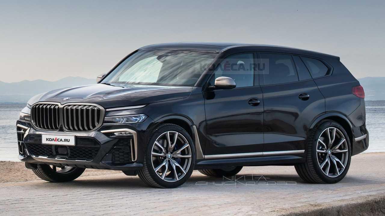 2022 BMW X8 rendering