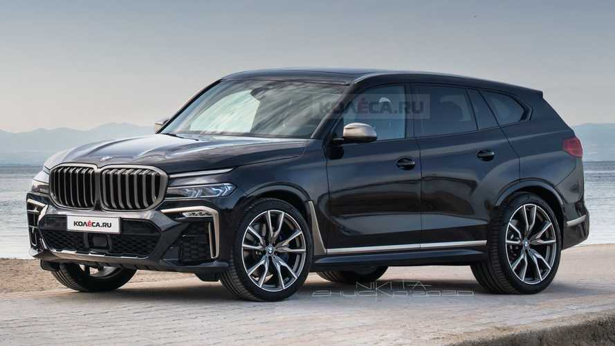2022 BMW X8 rendering | Motor1.com Photos