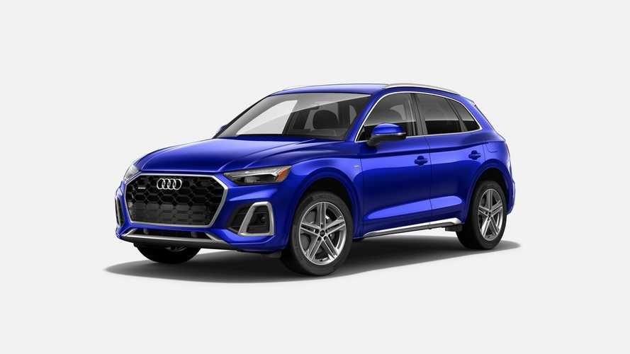 2021 Audi Q5 PHEV Considered Less Efficient By EPA Than 2020 MY