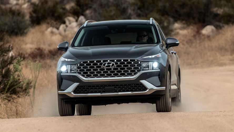 2021 Hyundai Santa Fe Sees Small Base-Price Increase, Can Top $43K