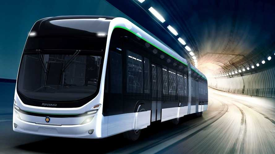 BYD produz 1º chassi elétrico articulado de piso alto para BRT do Brasil
