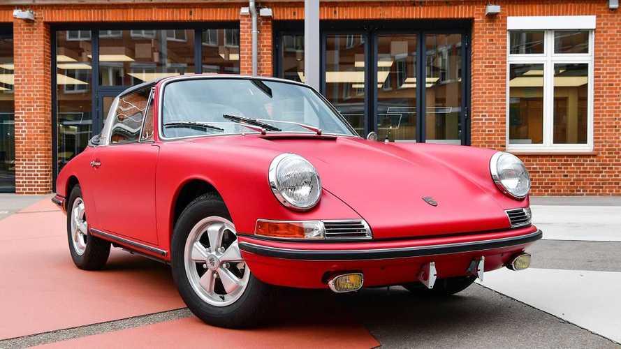 Porsche 911 S Targa (1967): Werksrestaurierung in Perfektion