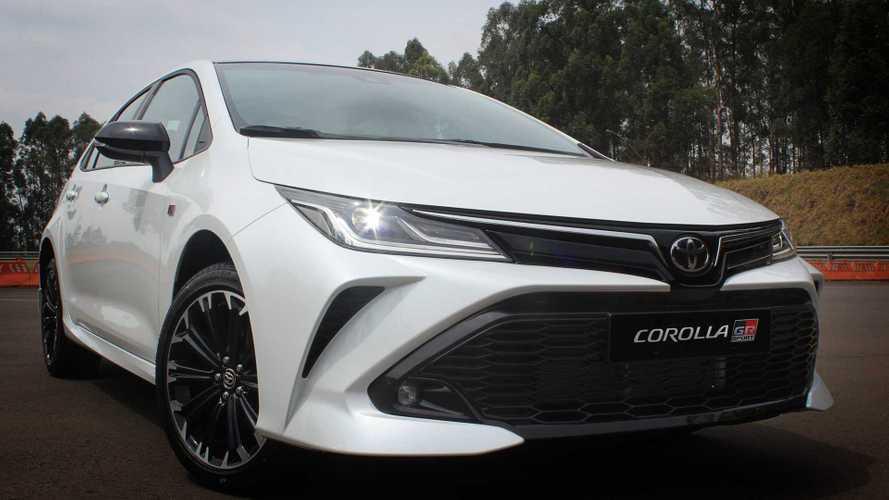 Novo Toyota Corolla GR-S 2022 aparece no configurador por R$ 151.990