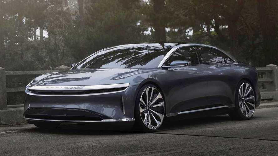 Lucid Air supera Tesla e Bugatti: o mais rápido do mundo no 1/4 de milha