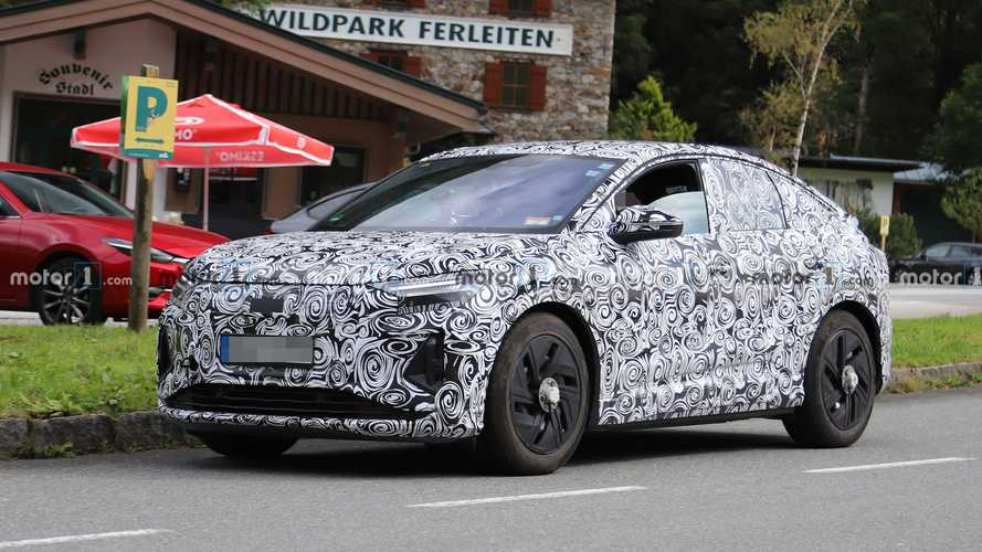 Audi Q4 e-tron Sportback, le prime foto spia