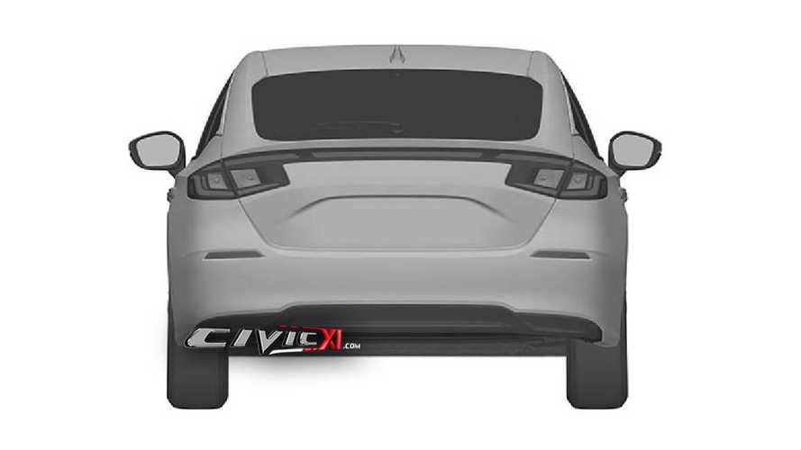 Honda Civic 11th Generation Design Trademark