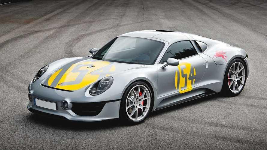 Porsche unseen cars