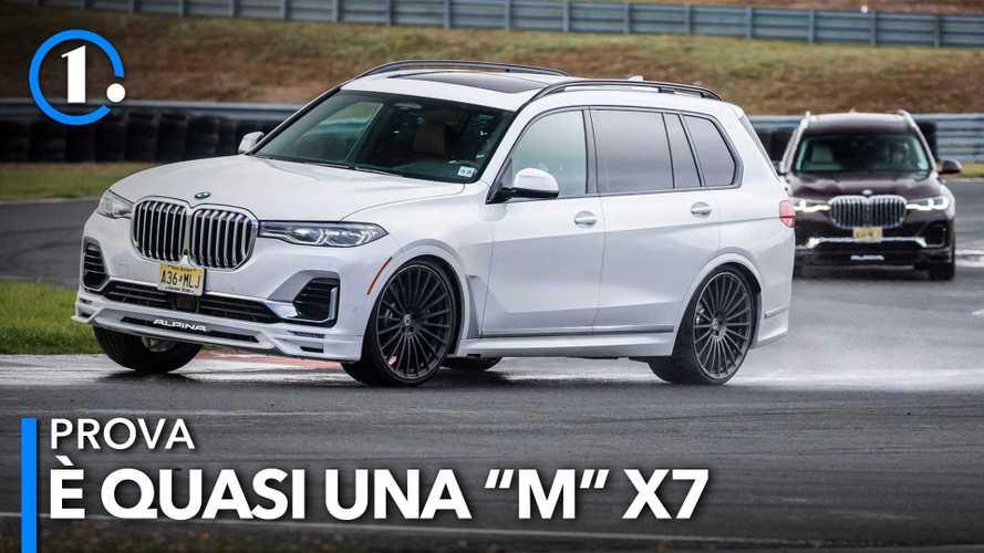 Alpina XB7, la prova del SUV BMW più grande con 612 CV