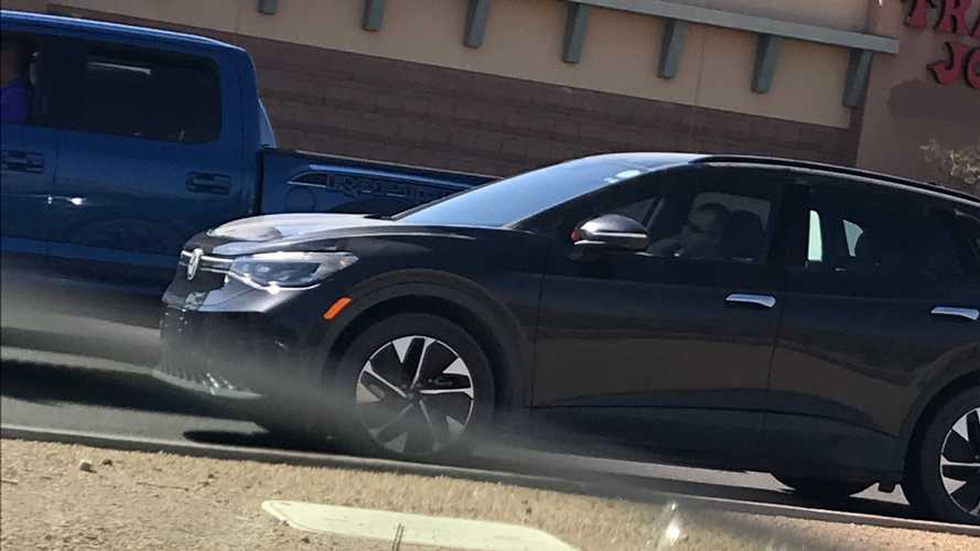Volkswagen ID.4 All-Electric Crossover Spotted In Phoenix, Arizona
