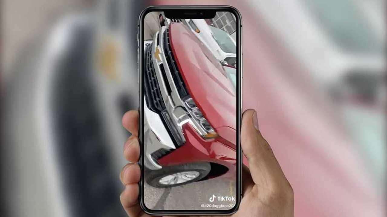 Viral TikTok Nissan Frontier To Chevy Silverado