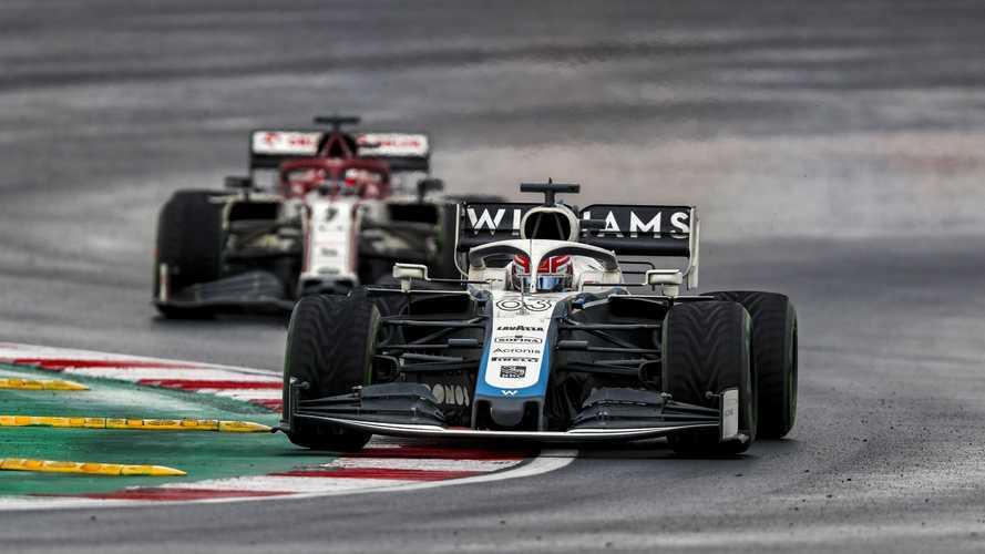 F1, Russell frustrato: non può competere con gli altri emergenti