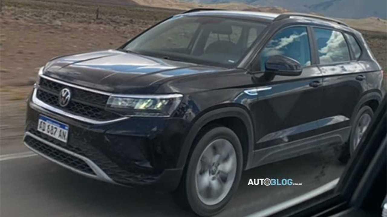 Volkswagen Taos Comfortline 2022
