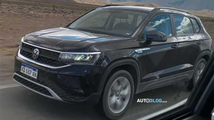 Flagra: VW Taos 2021 mostra diferenças entre as versões Comfortline e Highline