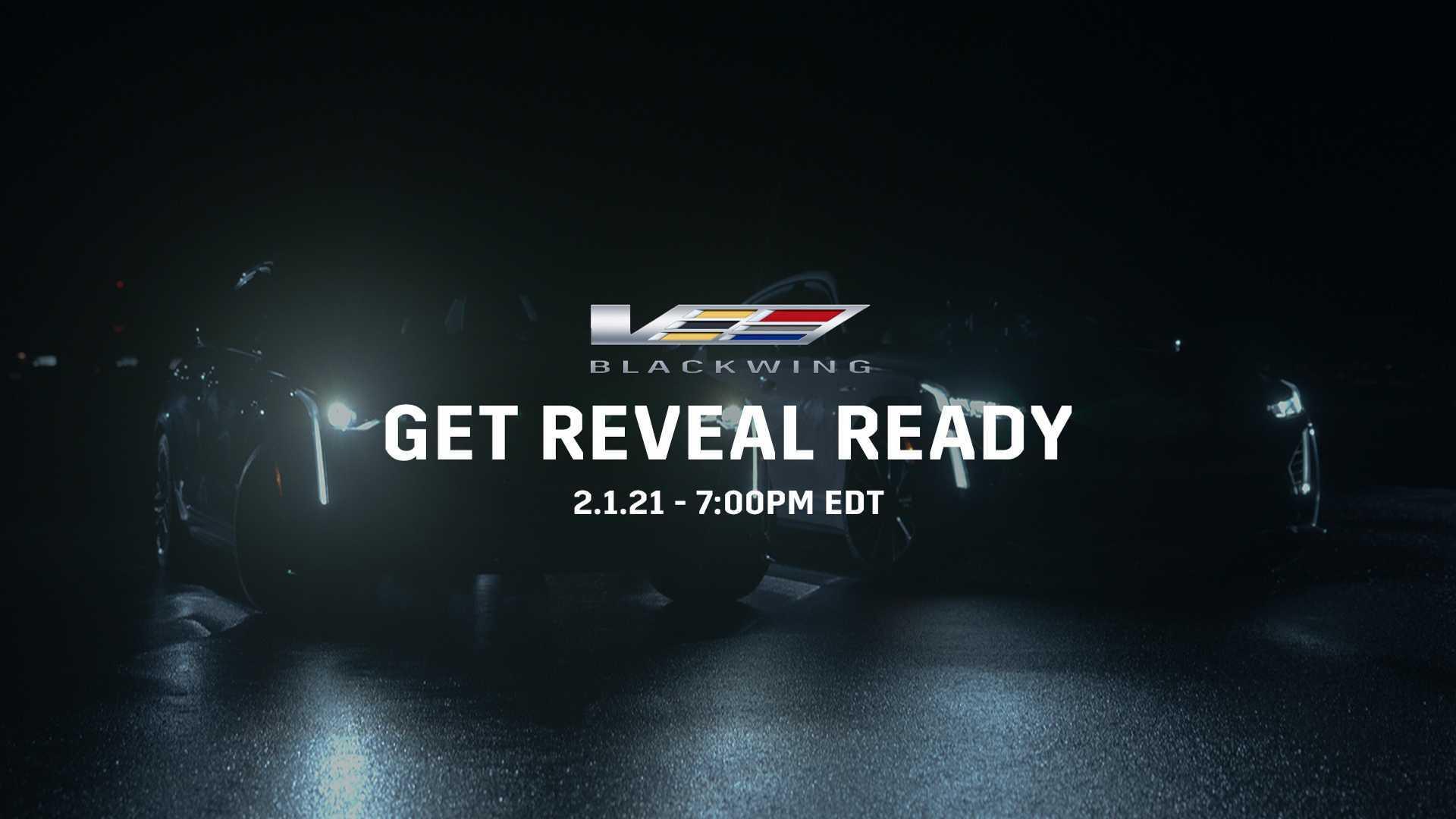 Седаны Cadillac CT4-V и CT5-V Blackwing 2022 года дебютируют 1 февраля