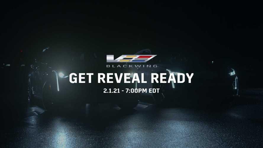 2022 Cadillac CT4-V, CT5-V Blackwing Sedans Set For February 1 Debut
