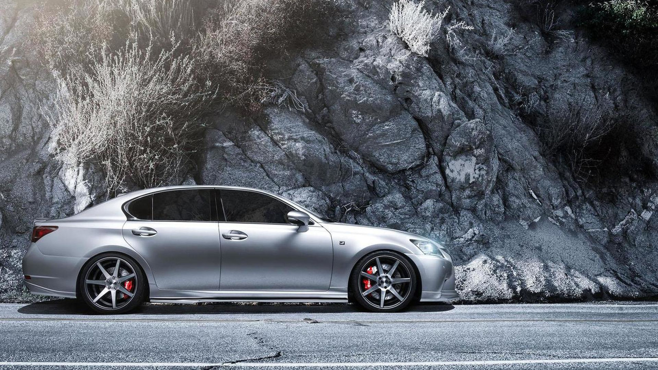Supercharged Lexus GS 350 F SPORT for SEMA 26.10.2012