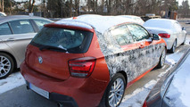 BMW M135i xDrive prototype spy photo
