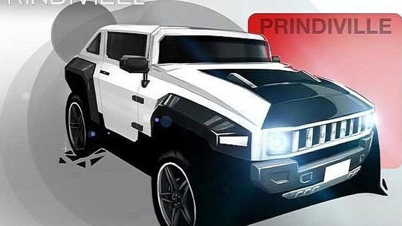 Prindiville Electric Hummer