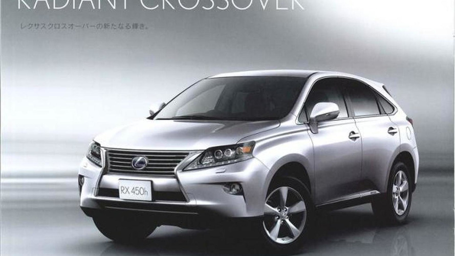 2013 Lexus RX leaked ahead of Geneva debut
