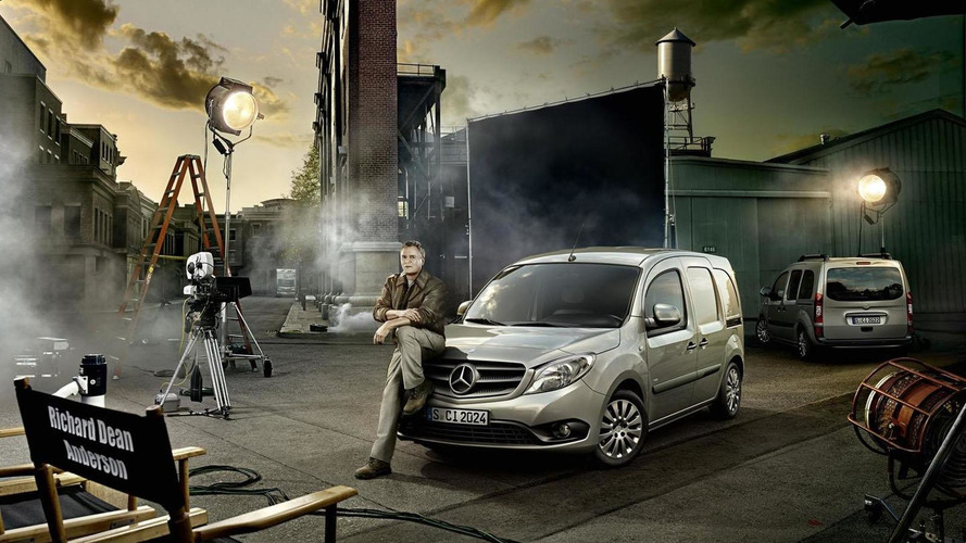 MacGyver returns... to sell the Mercedes Citan