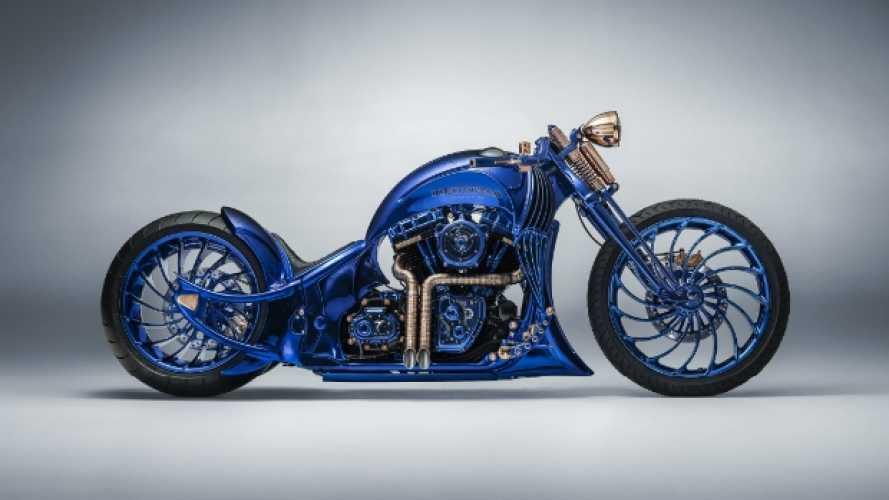 Harley-Davidson Softail Slim S Blue Edition, la moto più costosa del mondo