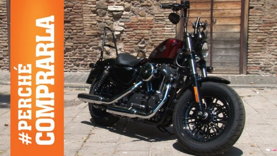 Harley-Davidson Sportster Forty-Eight 2016: Perché comprarla... e perché no [VIDEO]