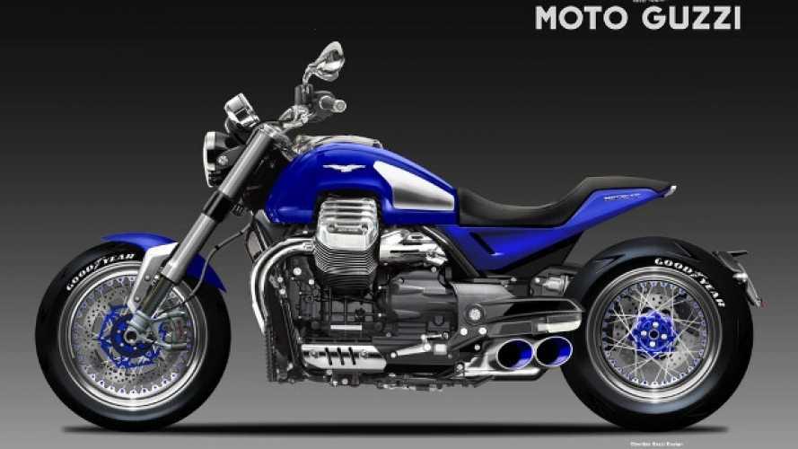 Moto Guzzi Maciste by Oberdan Bezzi: l'anti-XDiavel