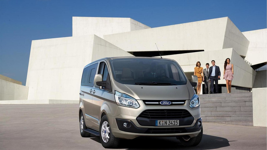 2013 Ford Tourneo Custom launch announced, new photos released