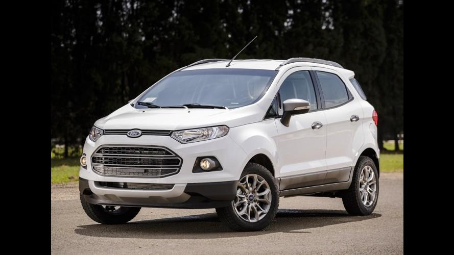 Ford EcoSport tem desconto de até R$ 5.700; versão automática sai por R$ 69.990