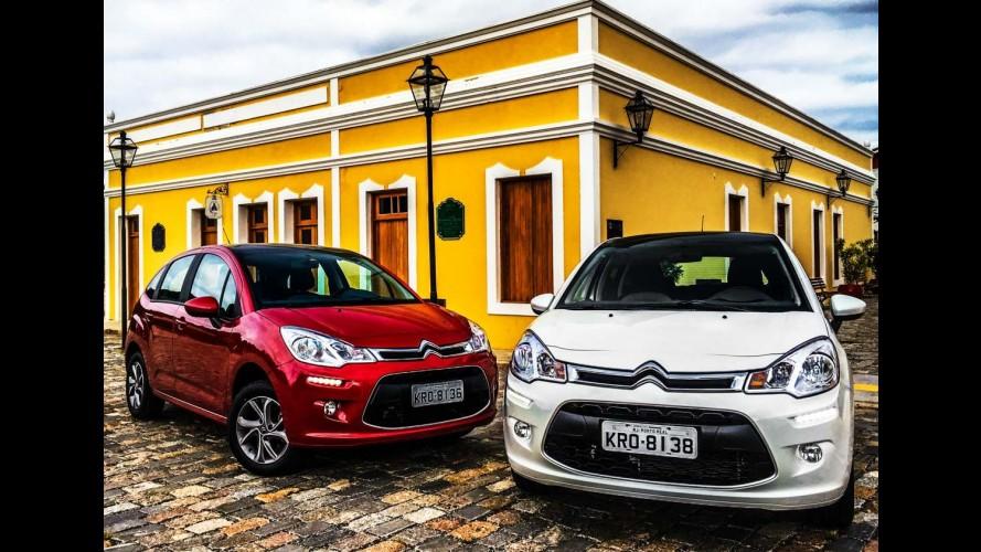 Citroën faz promoção com taxa zero e bônus para C3, Aircross e C4 Lounge