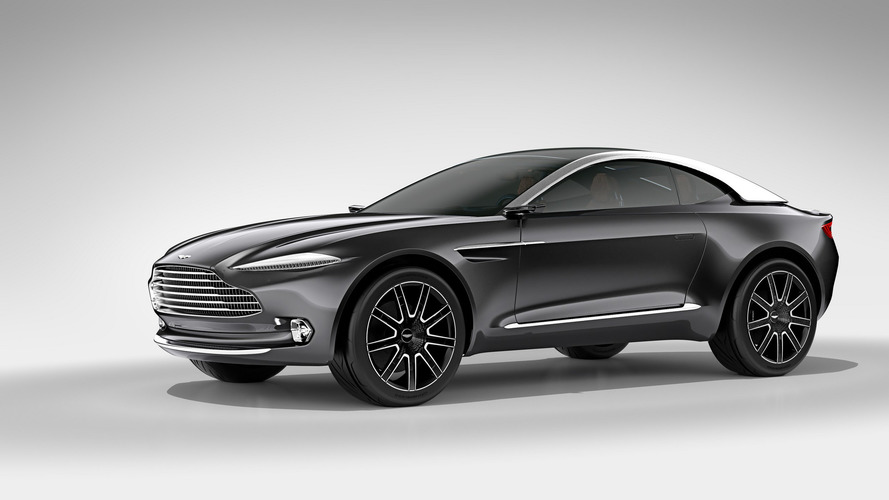 Aston Martin DBX SUV Coming Mainly Because Of China