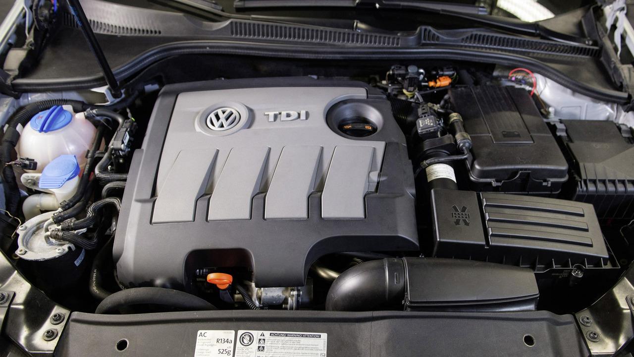Volkswagen 1.6 TDI EA 189 turbodiesel engine