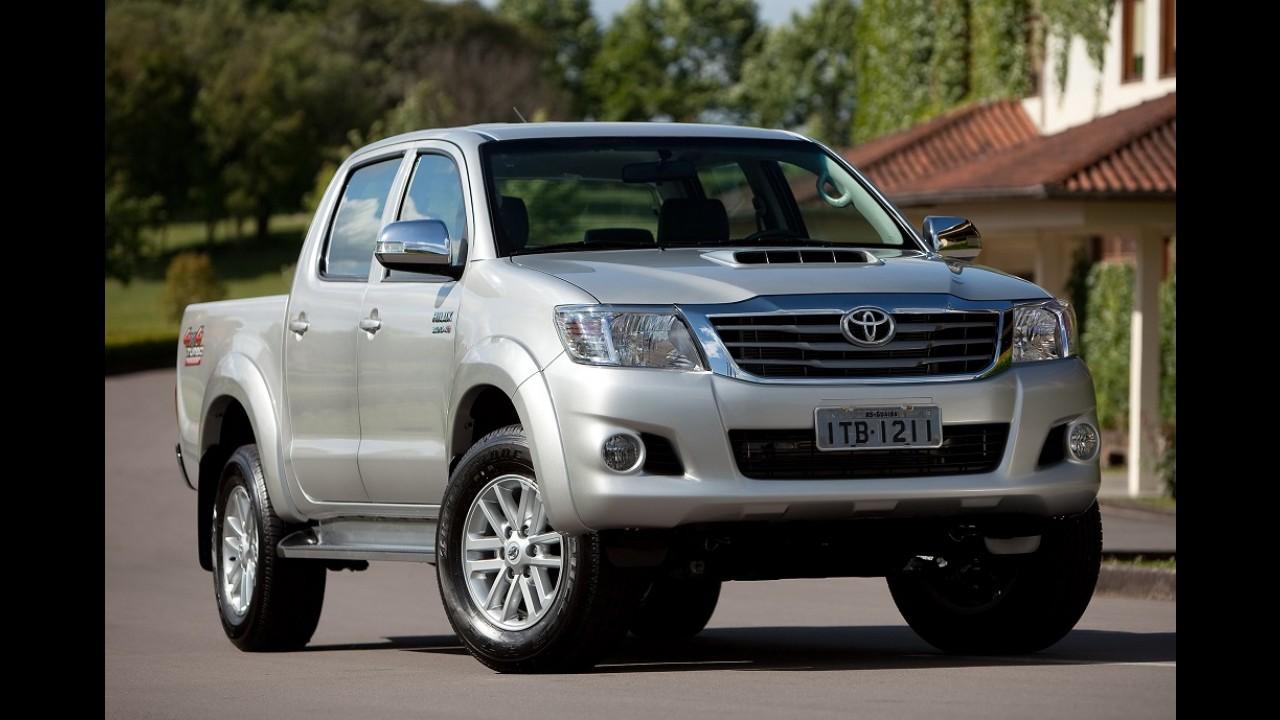 Toyota: velha Hilux sai de linha após 800 mil unidades produzidas