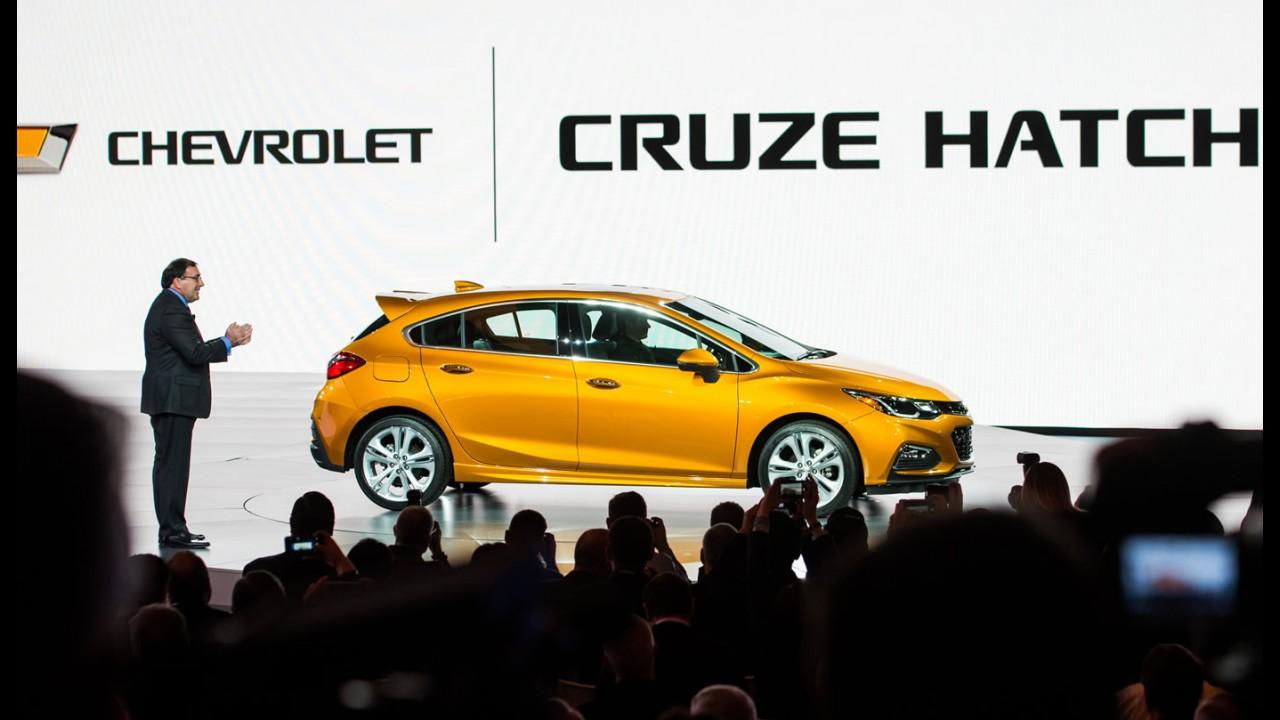 Novo Cruze Hatch tem potencial para ganhar versão esportiva, diz GM