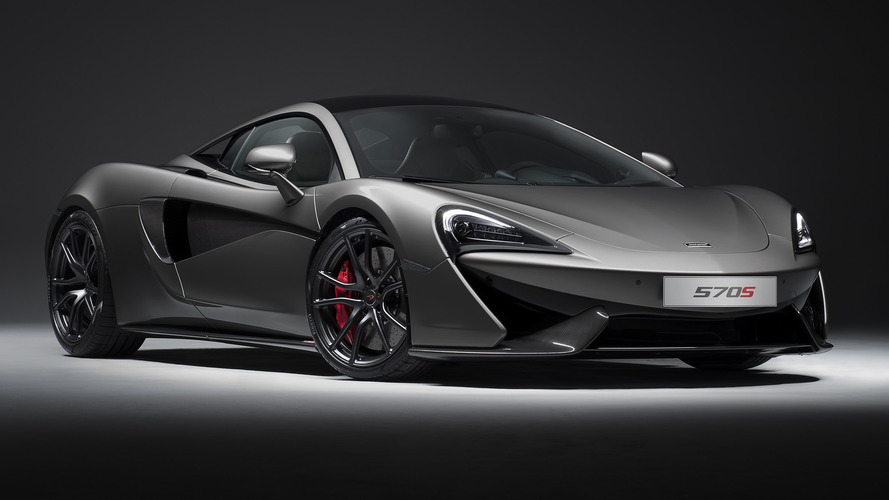 McLaren 570S Track Pack brings carbon fiber diet