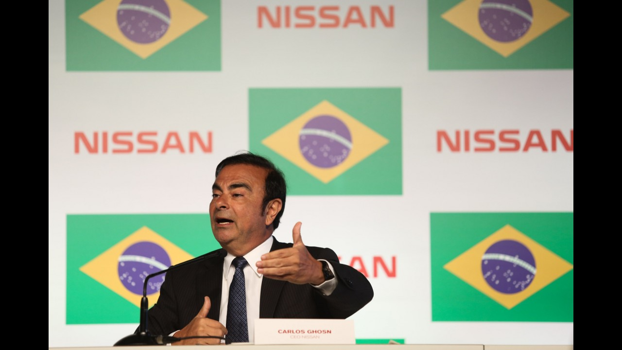 Chefão da Nissan, Carlos Ghosn confirma produção do Kicks em Resende (RJ)
