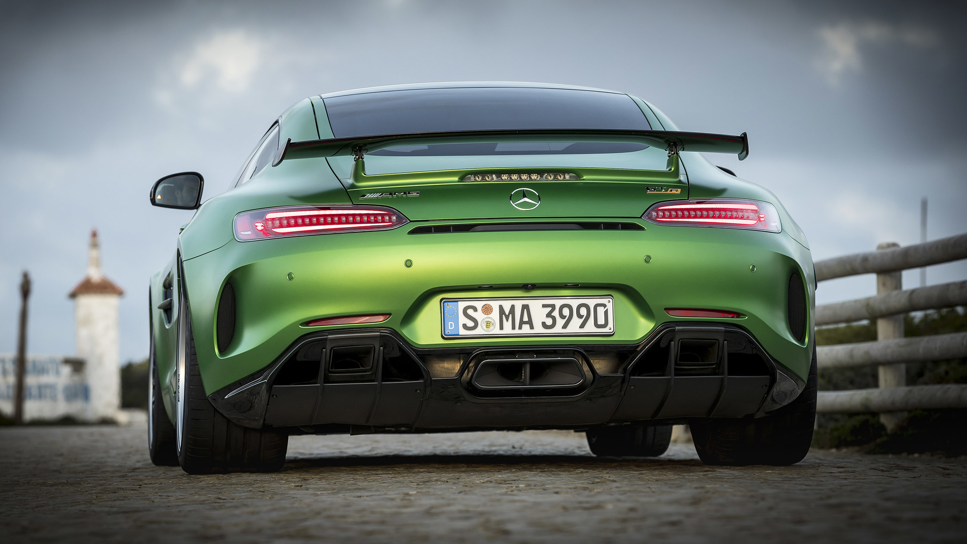 2018 Mercedes-AMG GT R First Drive: The green monster of