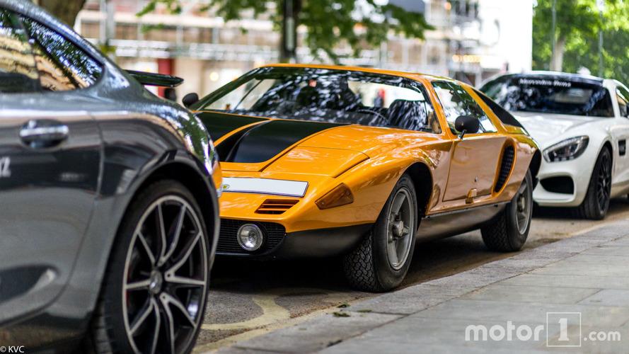 PHOTOS - Une rarissime Mercedes C111 surprise à Londres !