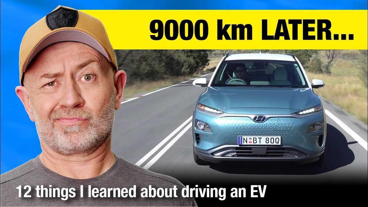 Australian Auto Expert Learns 12 Things From A Hyundai Kona Electric