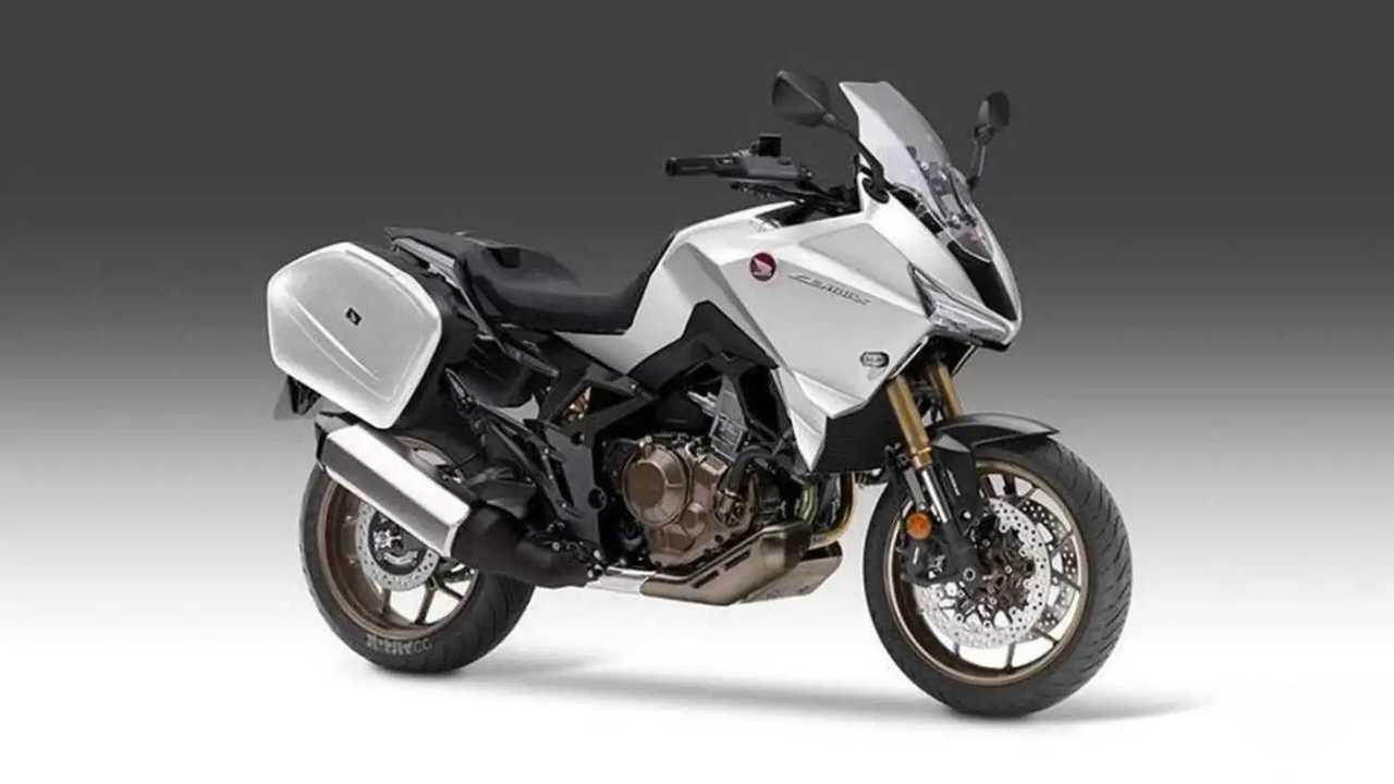 Honda NT1100 - projeção