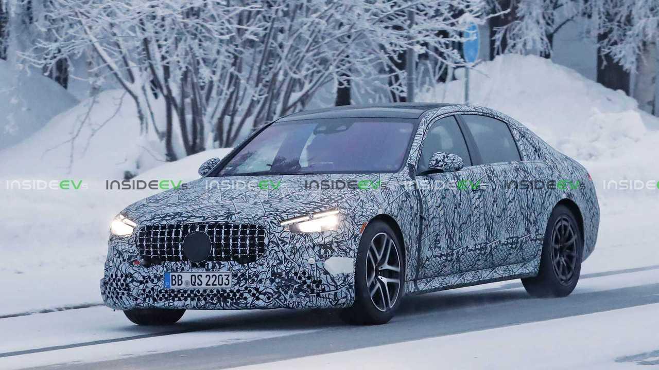 Mercedes-AMG S63e PHEV