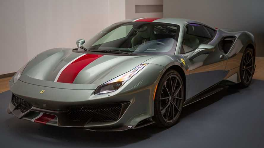 Ferrari Says This Tailor Made 488 Pista Doesn't Follow The Rules